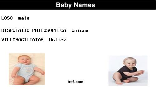 disputatio-philosophica baby names
