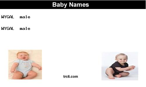 wygal baby names